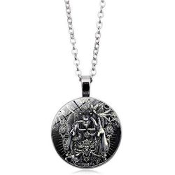 collar demonio baphomet